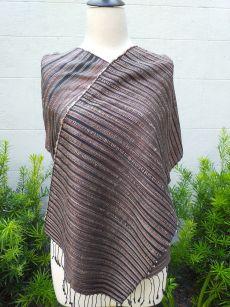 NSD607d Thai Silk Hand Spun Stylish Scarf