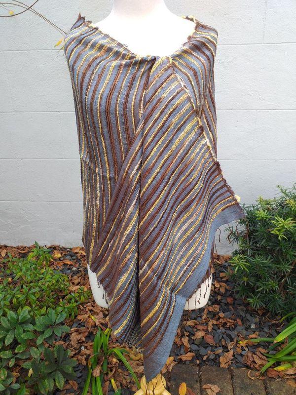 NSS002A SEAsTra Fair Trade Silk Scarf