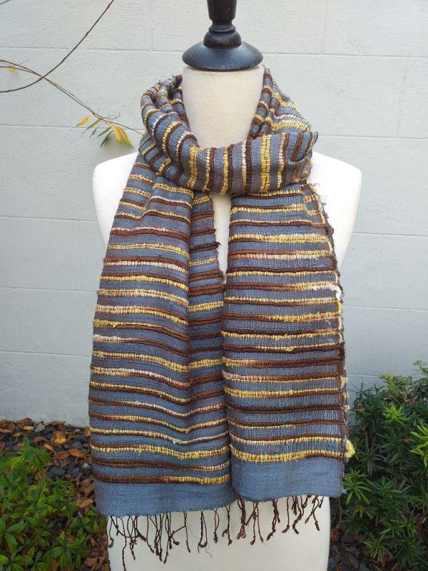 NSS002C SEAsTra Fair Trade Silk Scarf