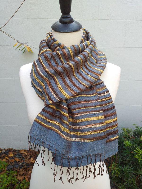 NSS002D SEAsTra Fair Trade Silk Scarf