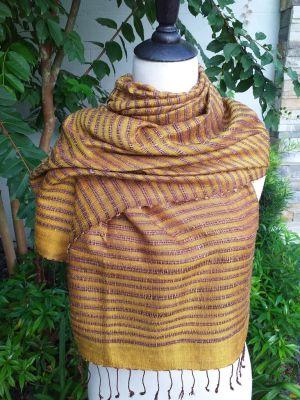 NSS005e Thai Silk Hand Made Stylish Shawl