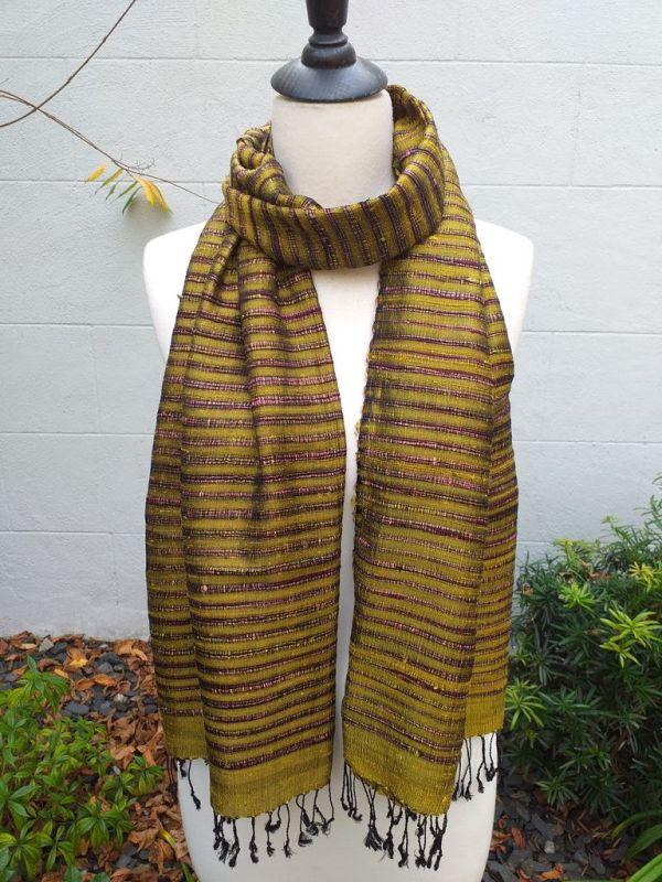 NSS014C SEAsTra Fair Trade Silk Scarf