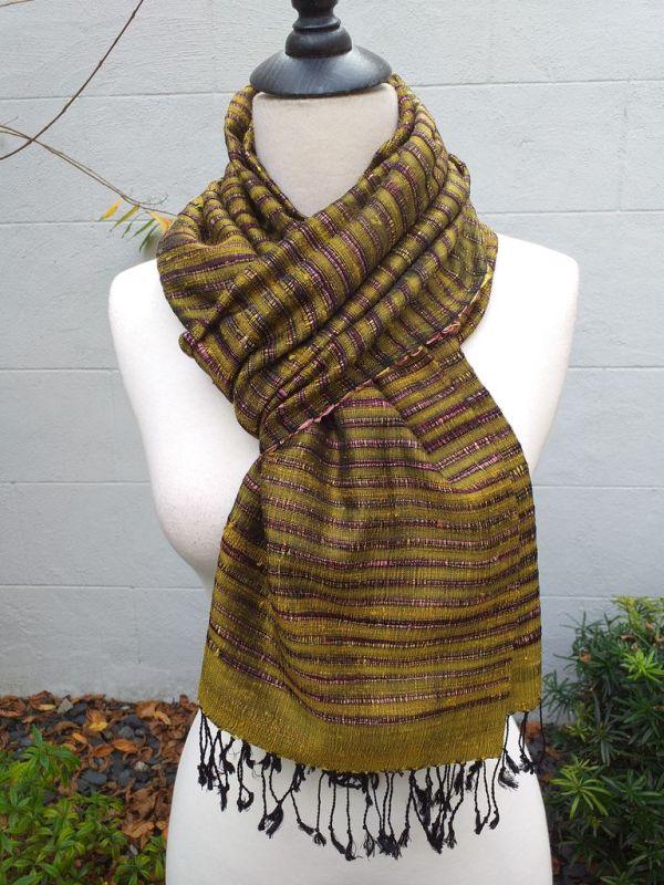 NSS014D SEAsTra Fair Trade Silk Scarf