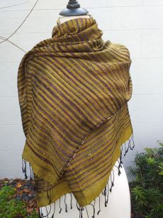 NSS014E SEAsTra Fair Trade Silk Scarf