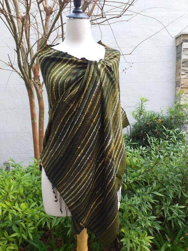 NSS139A SEAsTra Fair Trade Silk Scarf