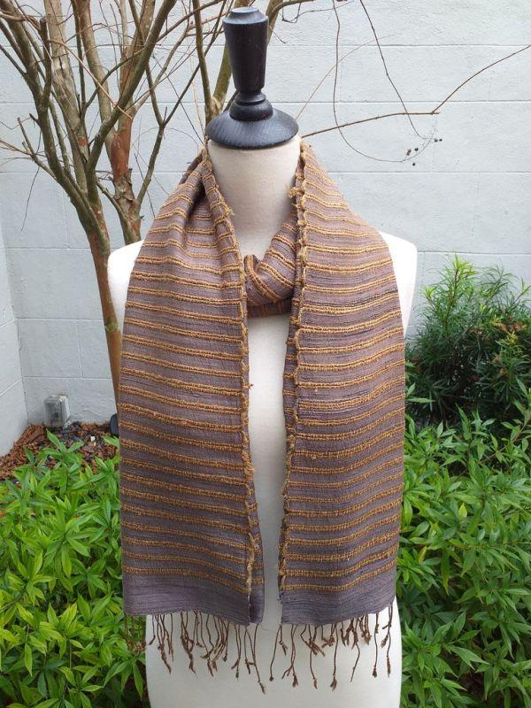NSS405C SEAsTra Fair Trade Silk Scarf