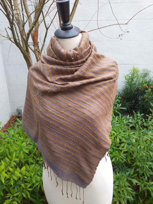 NSS405E SEAsTra Fair Trade Silk Scarf