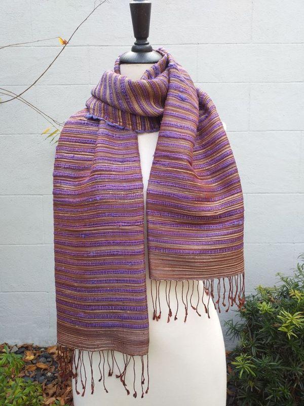 NSS605B SEAsTra Fair Trade Silk Scarf