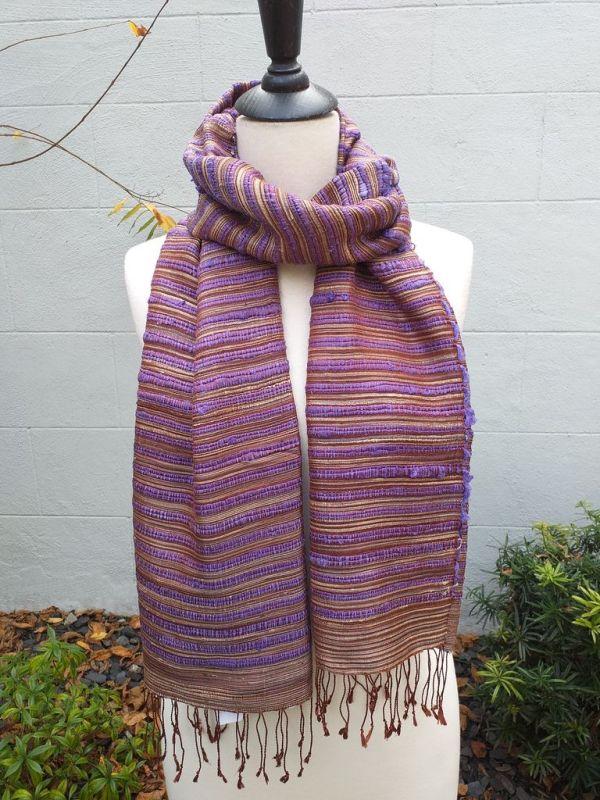 NSS605C SEAsTra Fair Trade Silk Scarf