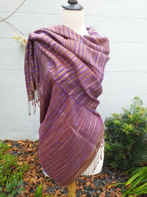 NSS605E SEAsTra Fair Trade Silk Scarf