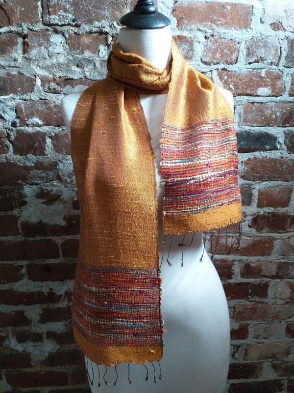 NTC030D SEAsTra Handwoven Silk Scarves
