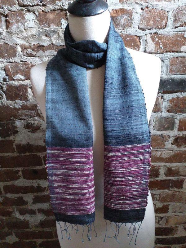NTC091C SEAsTra Handwoven Silk Scarves