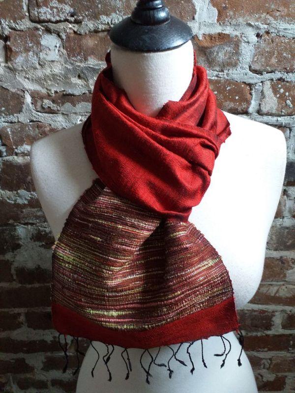 NTC103B SEAsTra Handwoven Silk Scarves