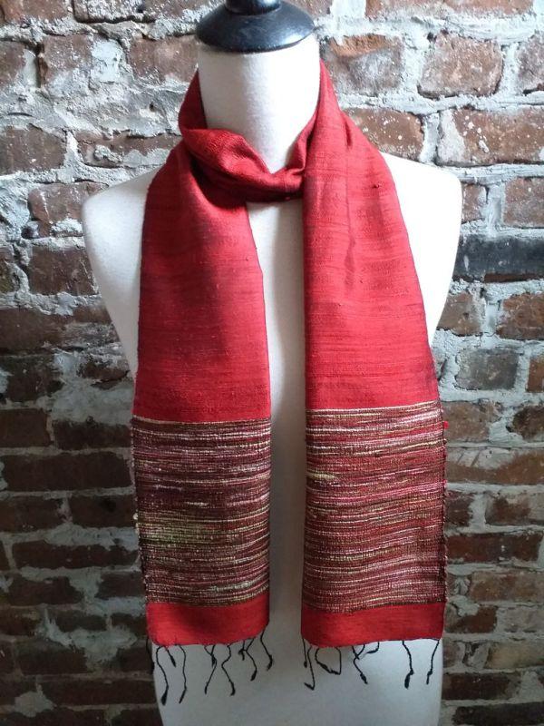 NTC103C SEAsTra Handwoven Silk Scarves