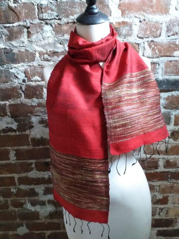 NTC103D SEAsTra Handwoven Silk Scarves