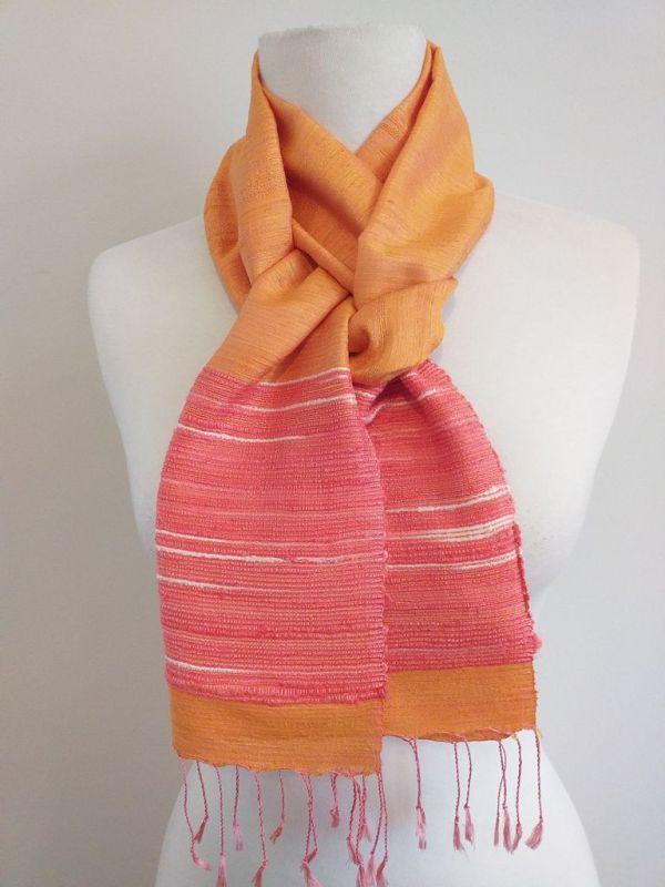 NTC176E SEAsTra Handwoven Silk Scarf