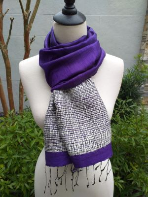 NTD902B SEAsTra Handwoven Silk Scarves