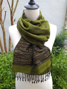 NTS139C SEAsTra Handwoven Silk Scarves