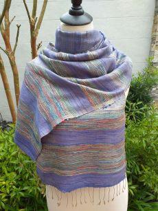 NWS568A SEAsTra 100 Raw Silk Scarves