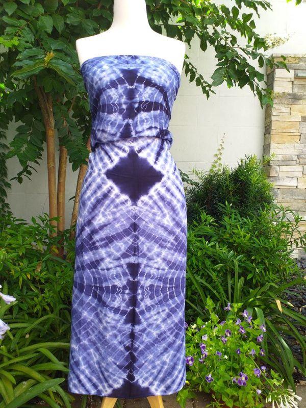 XEQ889E Rayon Scarf Hand Tie Dye Square Bright Hemmed Unique Original