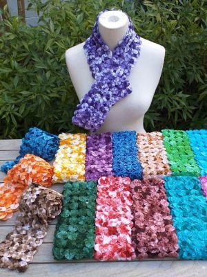 YOY057c Hand Stitched Cotton YoYo Color