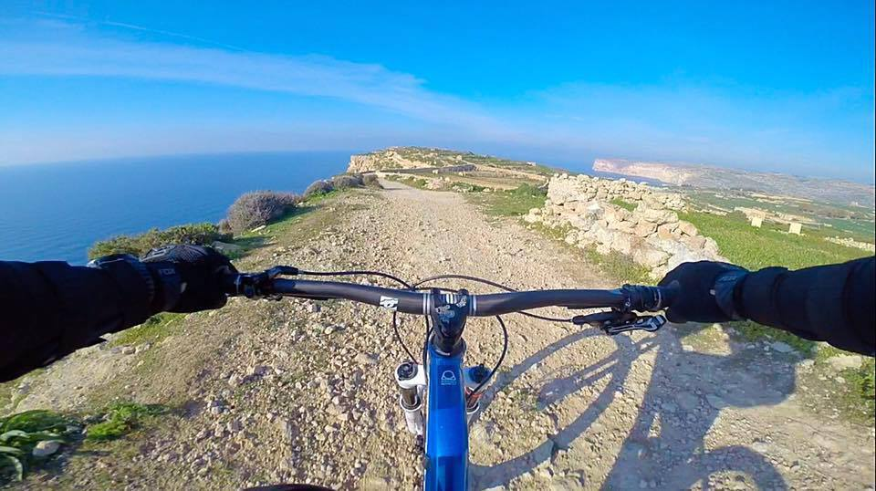 Cycling Near Mellieha Bay Malta