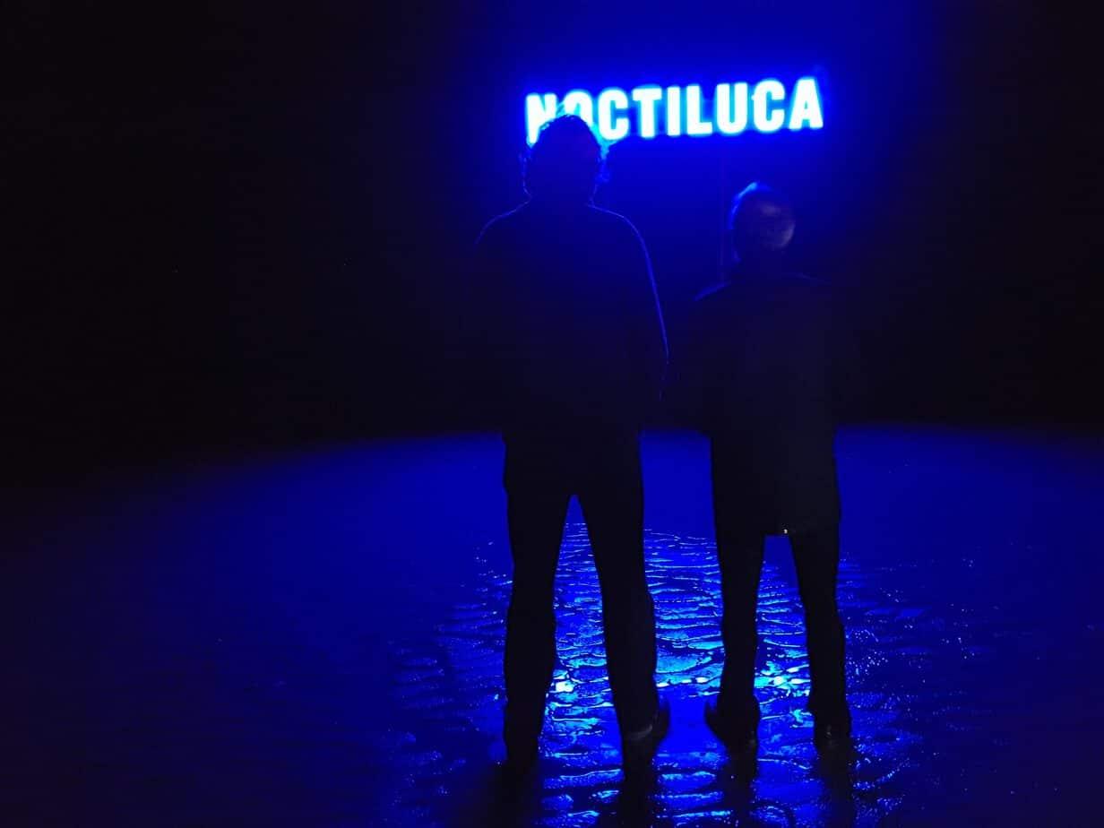 """Lichtkunstobjekt """"Noctiluca"""" auf Langeoog"""