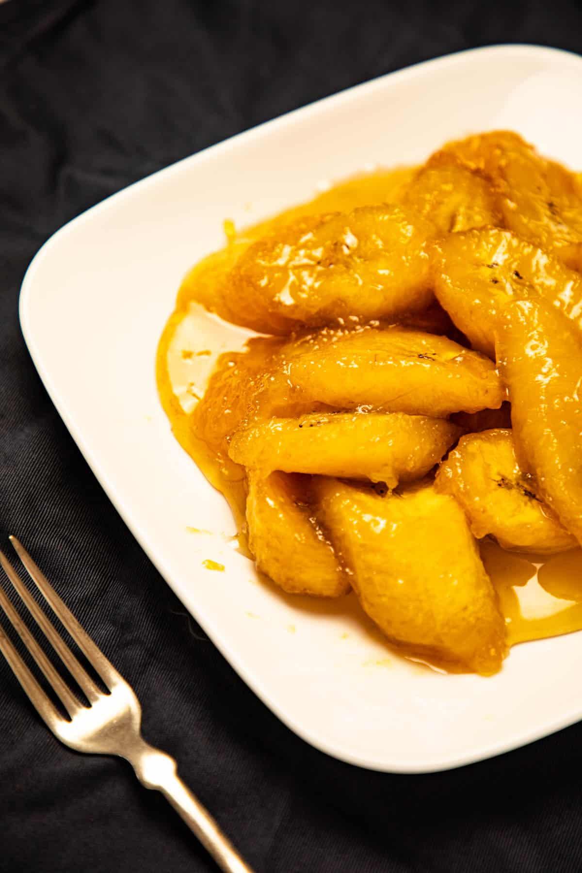 Plantain Banana in Syrup via @seasiderecipes