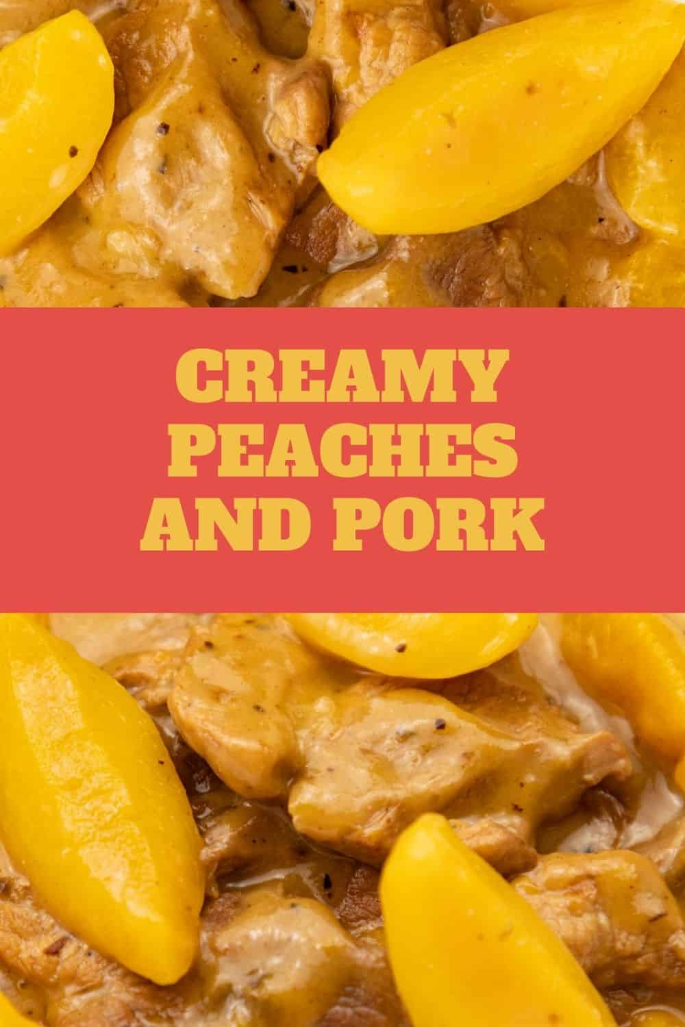 Creamy peaches and pork cooked in mushroom soup. The pork is tender and the peaches add extra flavor to this amazingly delicious dish. via @seasiderecipes