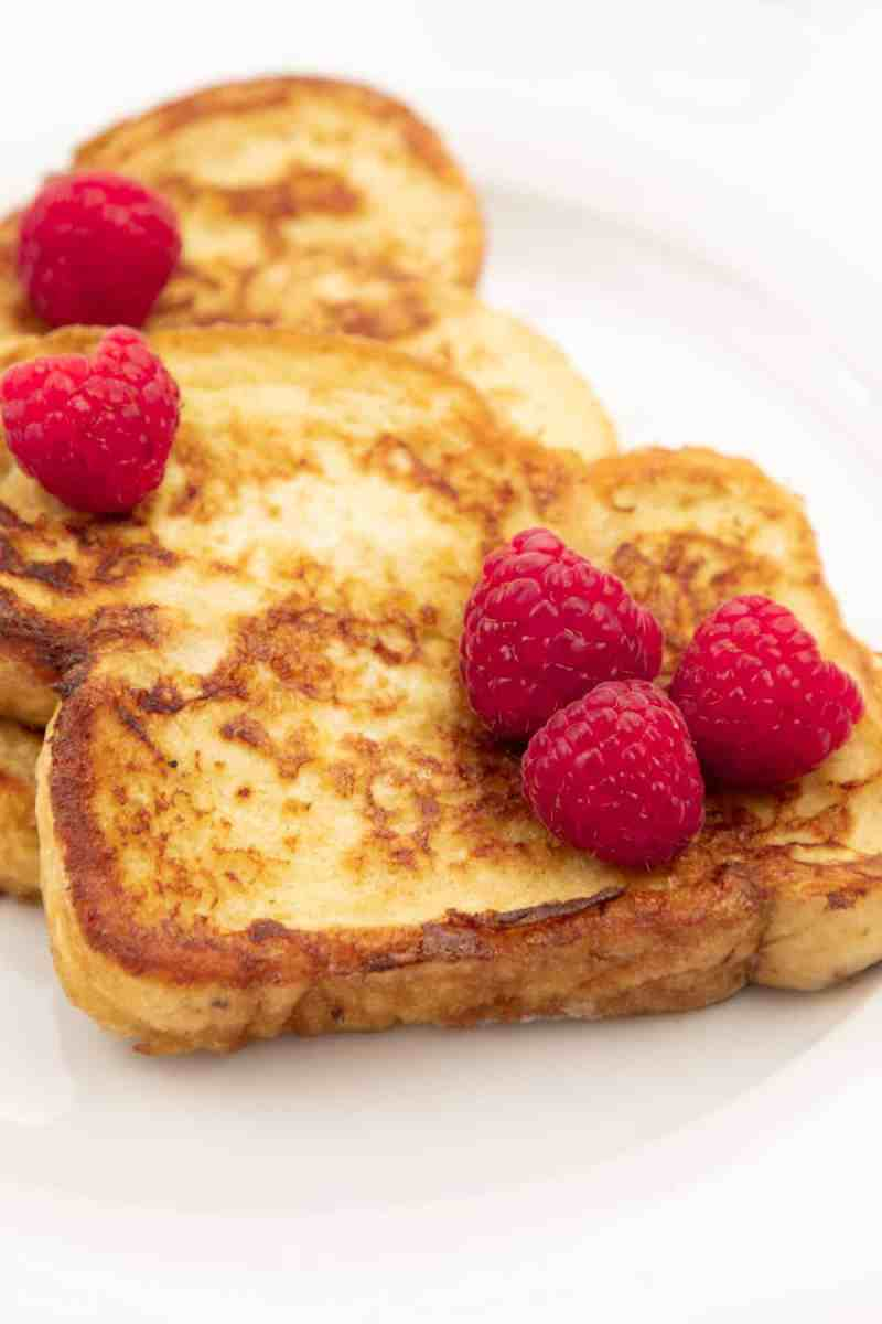 Homemade French Toast no syrup