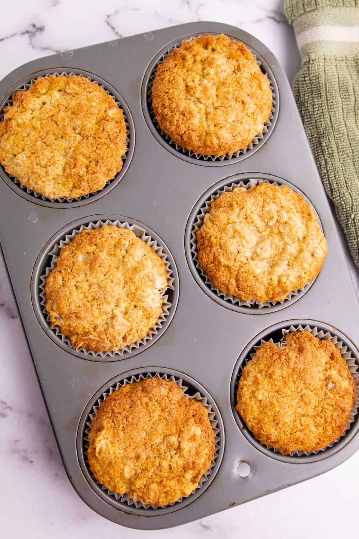 Oatmeal Buttermilk Muffins via @seasiderecipes