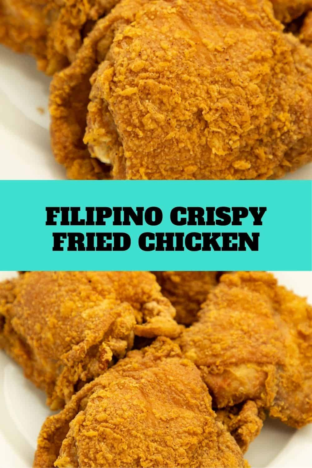 Tasty and delicious. This Filipino crispy fried chicken is one of our family favorites. Fish sauce adds flavor to this awesome dish. #filipinofriedchicken #filipinorecipes #chickenrecipes via @seasiderecipes