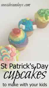 4 ideas for St Patrick's Day Cupcakes