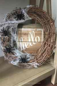 Halloween wreath