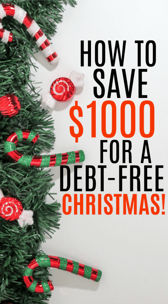 Have a debt-free Christmas and a happy new year with these money saving tips to help you save $1000 by the holidays. Learn tricks to make extra money easily and save money without sacrificing. Tips and tricks for saving money on restaurants, groceries, and shopping. Learn how to use apps and Swagbucks to make money online easily. Declutter and make hundreds! These tips are great for moms and anyone who wants to save money on Christmas this year without feeling deprived!