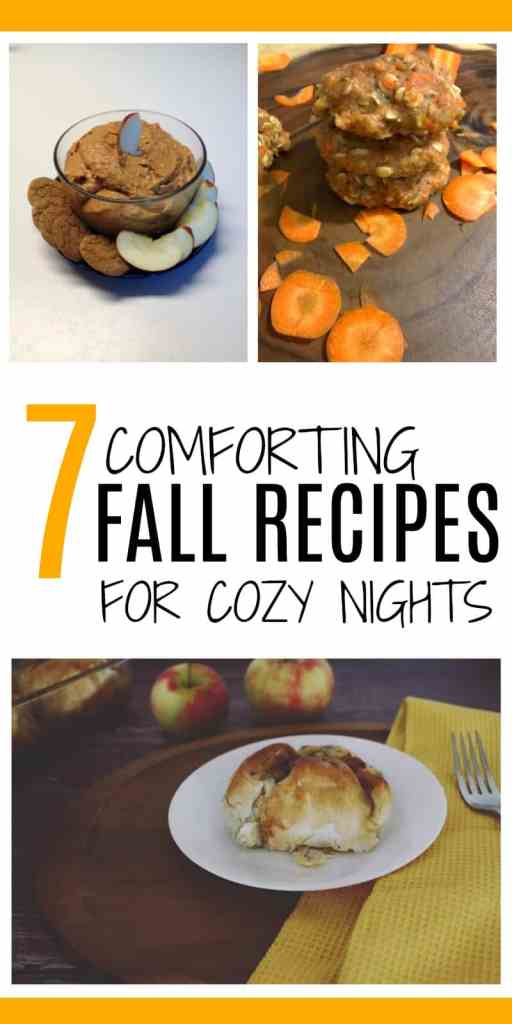 Crisp fall nights mean cozy nights with comfort food. These 7 recipes are sure to whet your appetite!