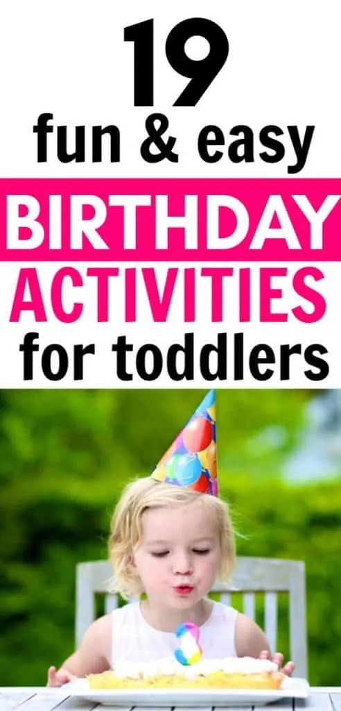 19 Birthday Party Activities For 2 Year Olds Seaside Sundays