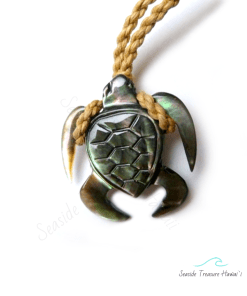 mother of pearl turtle neckalce