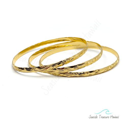 silver gold plated bangle