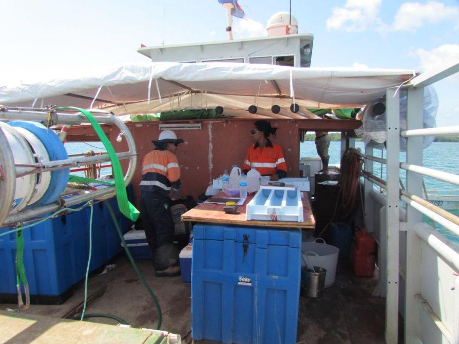 Daru PNG, The LAB MV Zephyr