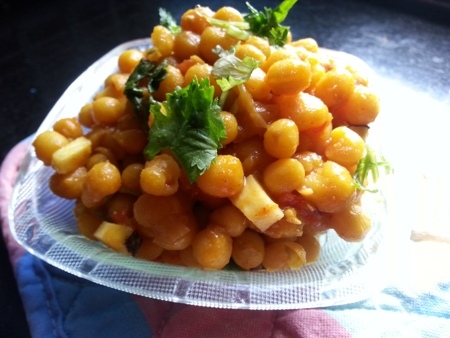 Ghugni Masala Chaat Bengali Recipe