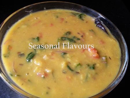 Andhra Menthi Kura Pappu Recipe