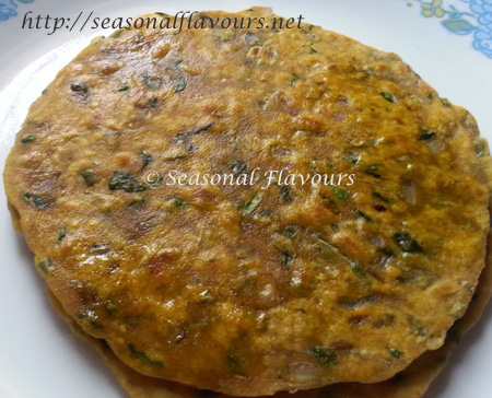Methi Paratha Punjabi Recipe