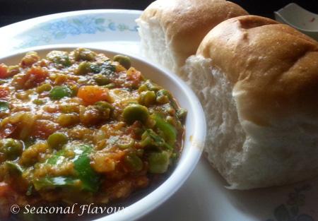Pav Bhaji Masala – Mumbai Street Food