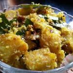 Raw Banana Fry Andhra Aratikaya Kobbari Kura | Aratikaya Onion Vepudu