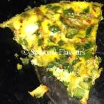 Baked Vegetable Omelette With Herbs And Cheese | Oven Omelette