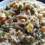 Egg Fried Rice Chinese Style With Vegetables | Veg Fried Rice With Egg