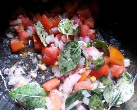 Vegetable Upma seasoning