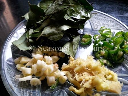 Seasoning ingredients for batter fried fish fillets recipe