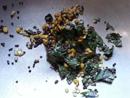 Seasoning for rava idli batter recipe